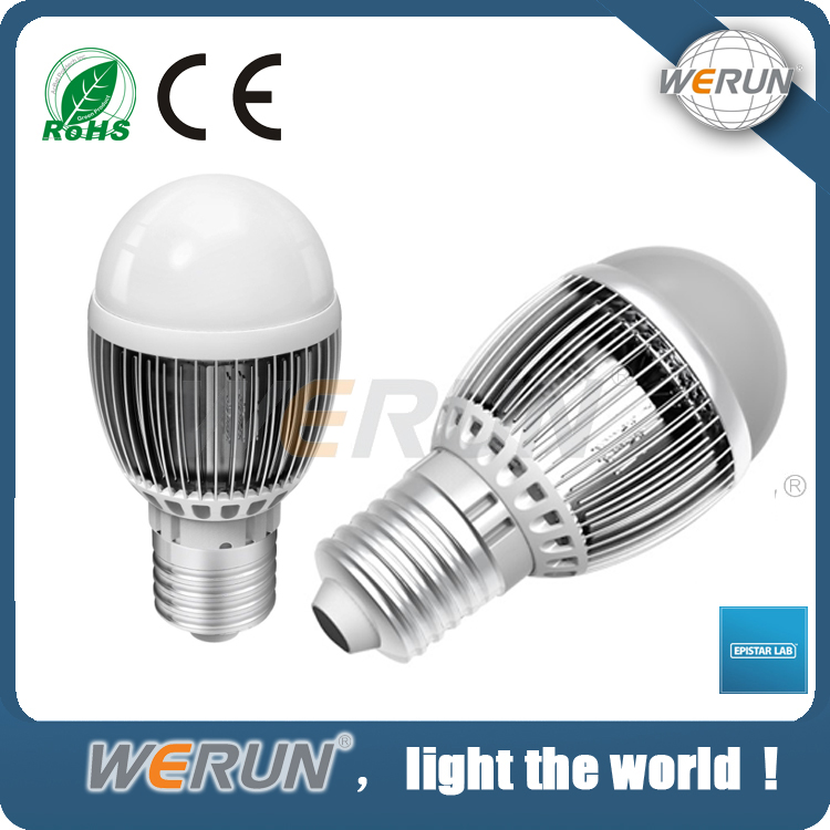 Energy saving lighting high brightness E27 led light bulb