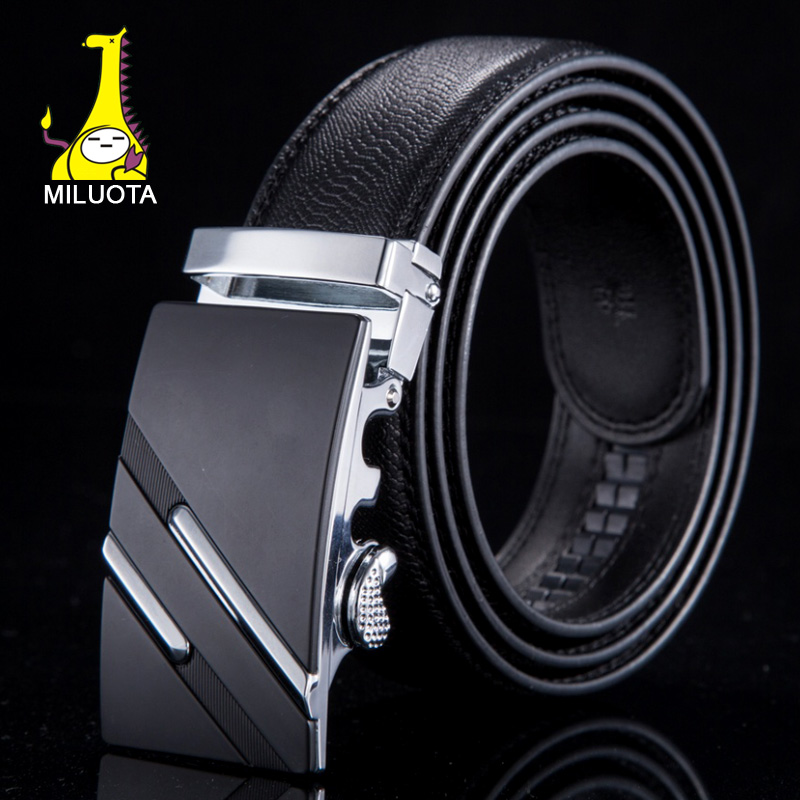 MILUOTA 2015 New men belt brand luxury ceinture designer belts men high quality genuine leather