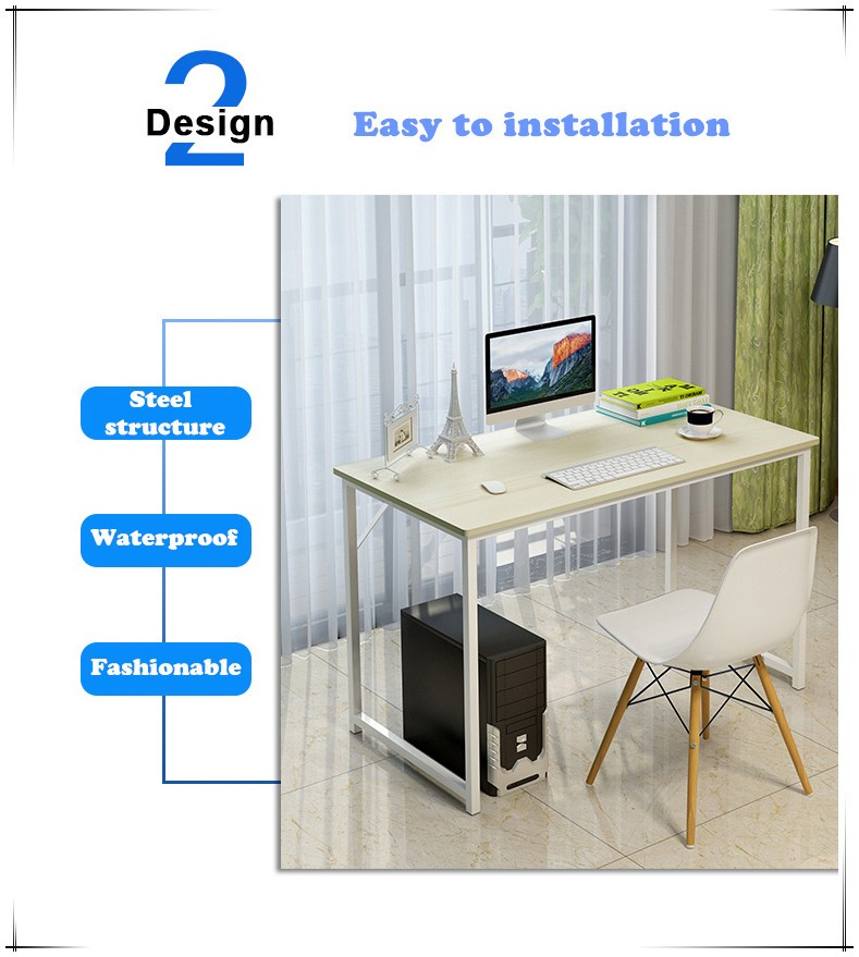 wholesale panel wood style best price computer table
