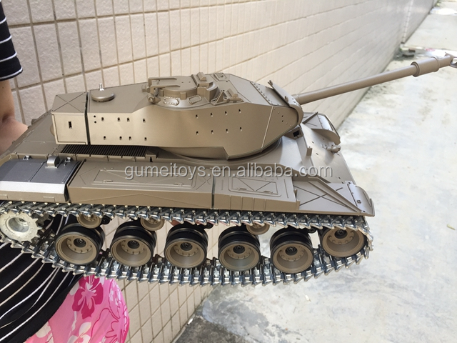 Upgraded 1:16 HengLong 2.4G Remote Control German Tiger RC Tank Model w//Sound sr