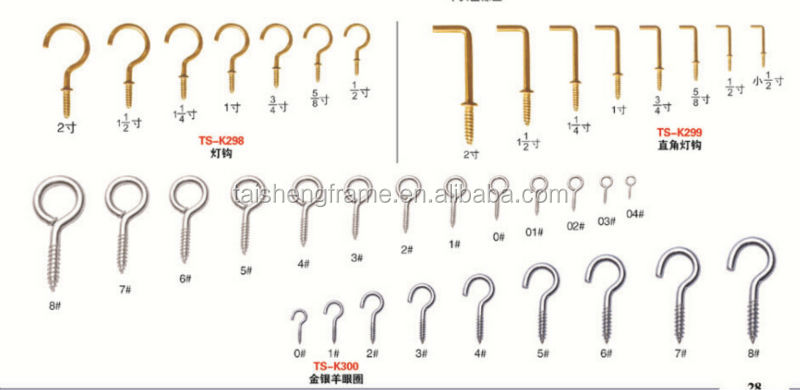 Eyeglass Screw Size Chart | CINEMAS 93
