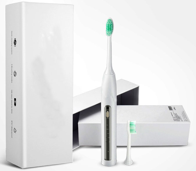 OEM manufacturing adult rechargeable waterproof sonic electric toothbrush for home travel