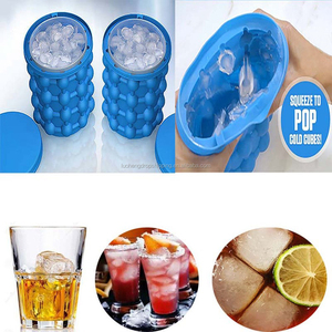 2018 Hot Sale Ice Cube Maker Genie The Revolutionary Space Saving Ice Cube Maker Ice Genie Kitchen Tools Drop Shipping