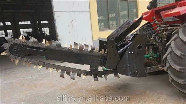CE approved reliable quality 3 point hitch ditch witch trencher