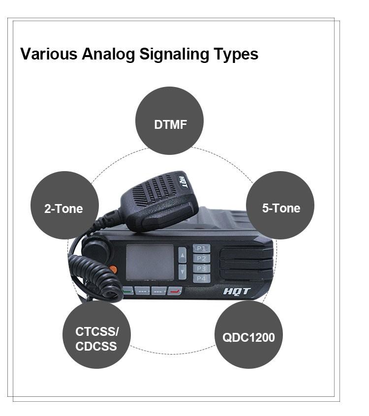 2019 New 50 Watts VHF UHF DMR Digital Mobile Radio - ANKUX