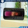 Black RF Hidden Spy Camera Clock Security Camera 1080P HD Night Vision Alarm Clock