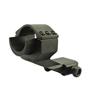 Jiufan New Black Tactical Cantilever 30mm- 25.4mm Scope Ring Mount Cantilever Scope Mount For M2 Scopes