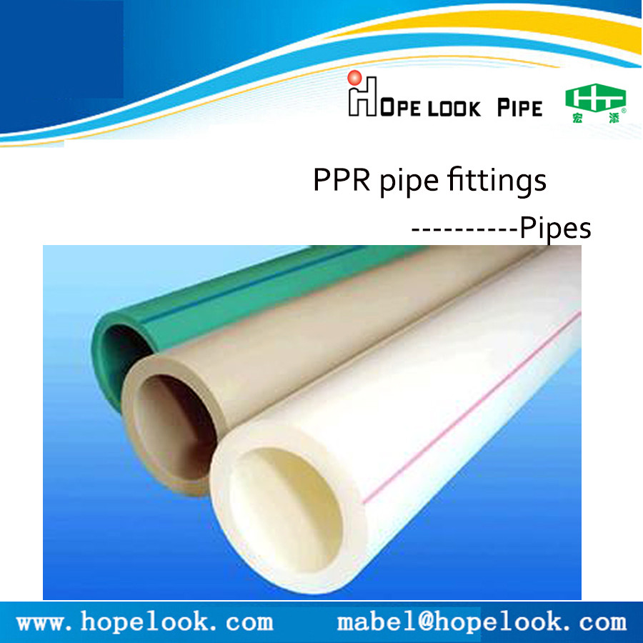 China supplier mm ppr pipe fittings plastic plumbing