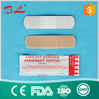 factory price for first aid plaster elastic fabric material bandage wound adhesive plaster