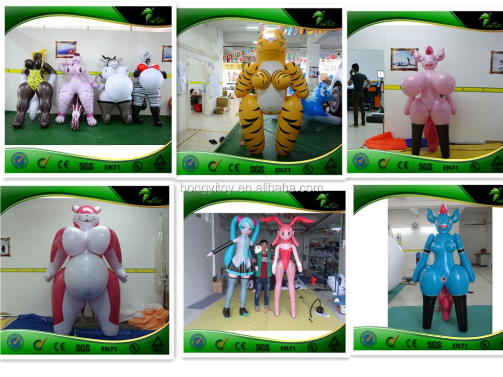 China Manufacturer Inflatable Pink Horse / Inflatable Sex Animal ...