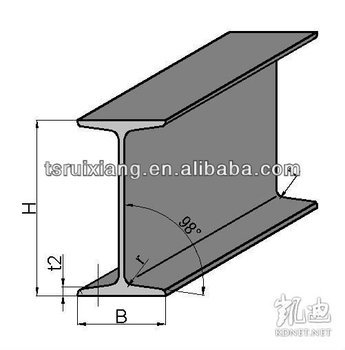 Standard H Beam Sizes Buy H Beam Size H Beam Standard H