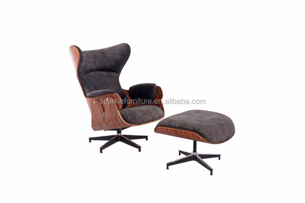High Quality Modern Design Lounge Chair And Ottoman