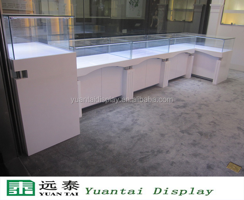 Modern Wholesale Used Glass Jewelry Display Showcase With Led ...