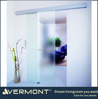 aluminum glass sliding door glass partition door