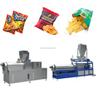 Corn flakes manufacturing equipments Tortilla Chips Snack Food Production Line