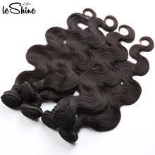 Hot Selling Leshine Hair Unprocessed Body Wave Grade 8A Virgin Brazilian Hair