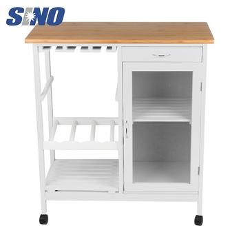 Harga Murah Modern Kitchen Storage Melayani Troli