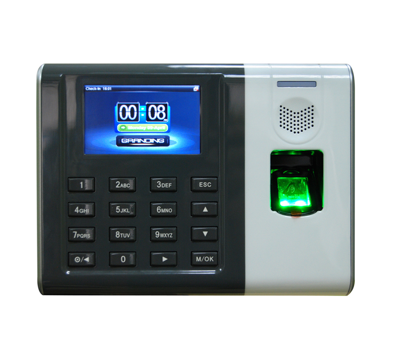 Fingerprint Time Attendance System With New UI model Biometric Time Attendance with TFT Color Display battery