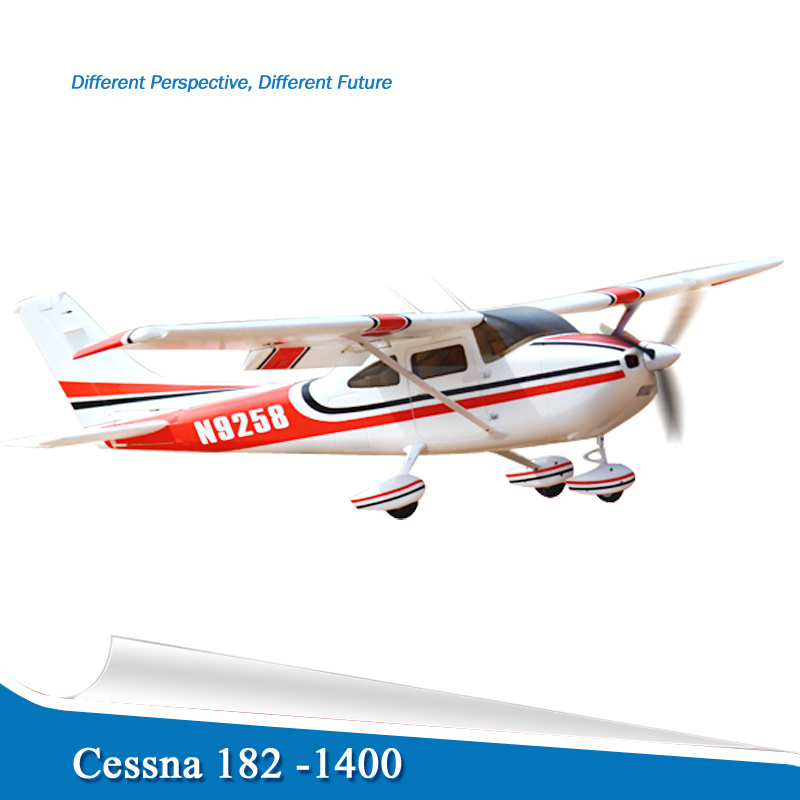 Free shipping New Arrival Remote control airplanes RC cessna 182 Kit with motor