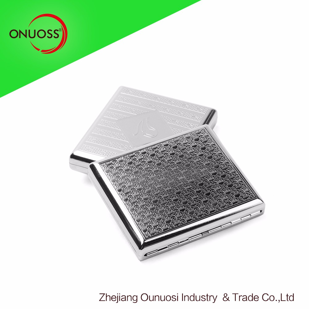 waterproof cigarette case metal cigarette case