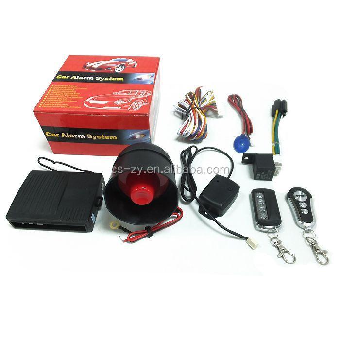 Dc 12v One Way Steel Mate Tenor Car Alarm System