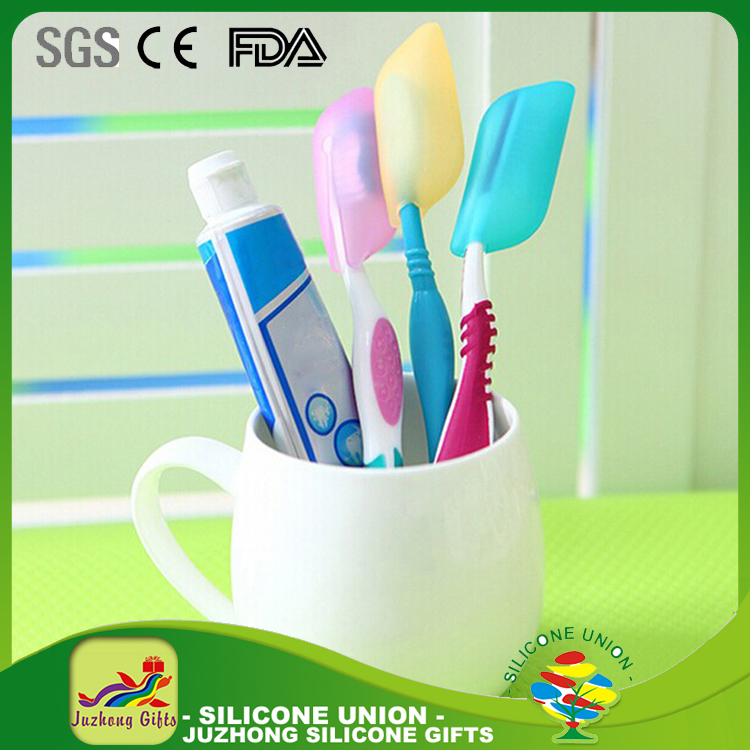 High quality silicone toothbrush travel case cover