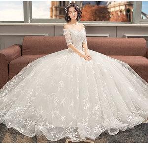 803349aadb9 Lace Tea Length Wedding Dress With Sleeves