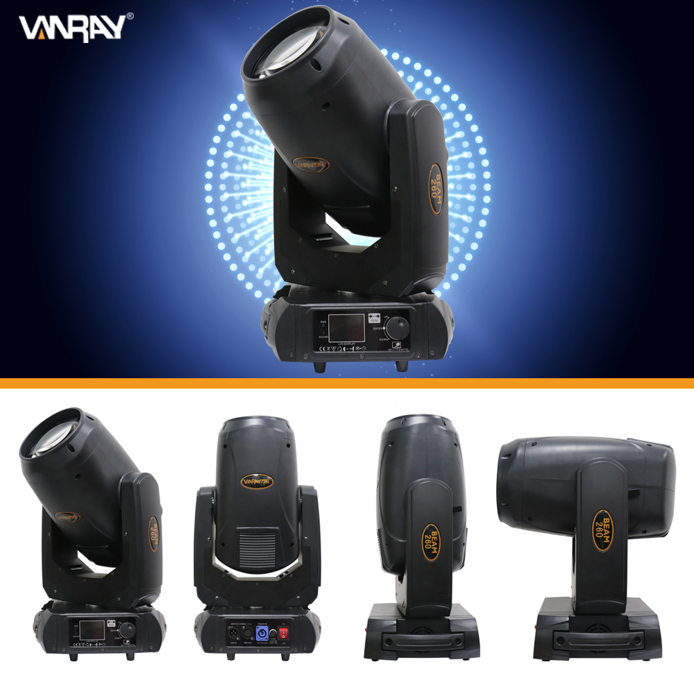 Super brightness 2 prisms superposition effect RDM function beam light DJ lights sharpy beam 260 moving head beam light