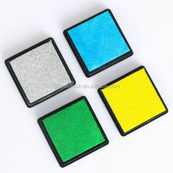 Non Toxic Ink Pad For Children Toy Mini Stamp Pantone Pads