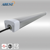 New Arrival 2ft 30W IP65 IK10 LED tri proof Batten lamp tube/LED tri-proof light in high quality 5 years warranty