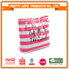 Cotton canvas beach tote bag with Custom Logo