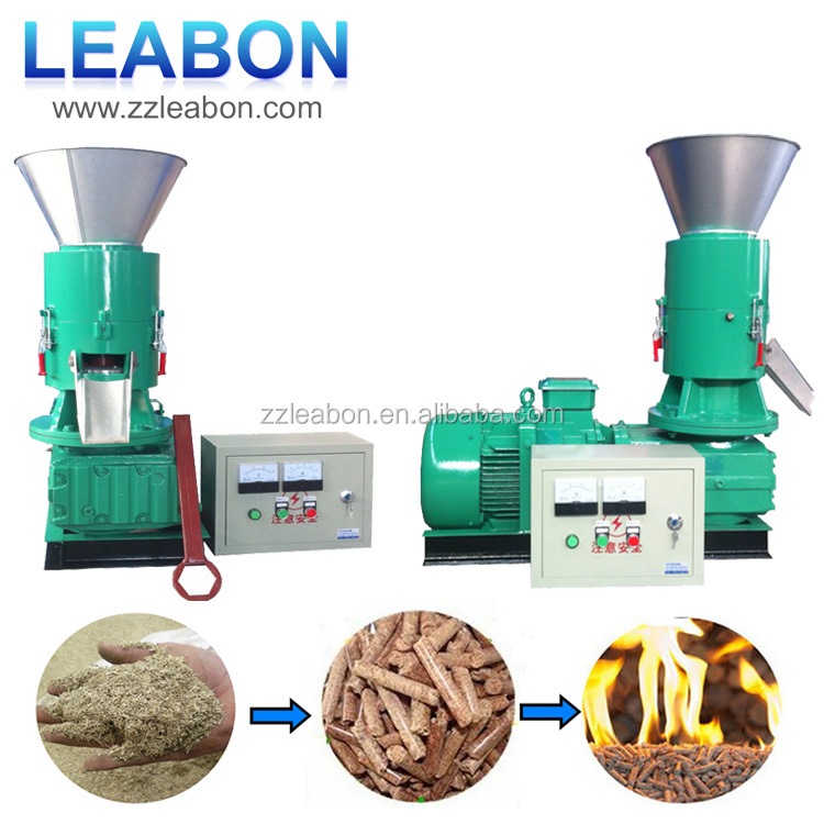 CE Home use wood pellet press small wood chips pelletizer
