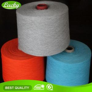 Cnlucky factory oe recycled cotton knit fabric yarn , africans fabric yarn