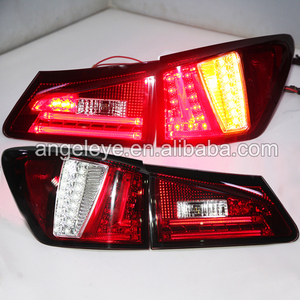 lED rear light For LEXUS IS250 IS300 IS350 2006 to 2012 year LED Tail Lampwith fog light Red Color SN