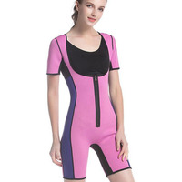 Hot sale factory direct price Unisex Body shaper neoprene Slimming suit