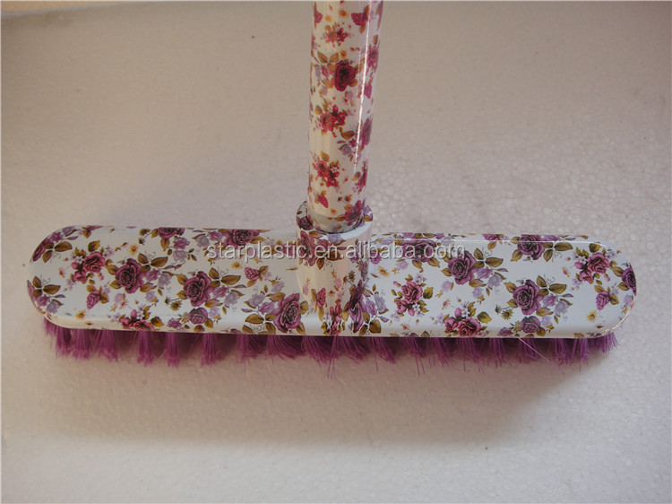 Manufacturers direct plastic color printing broom import china goods