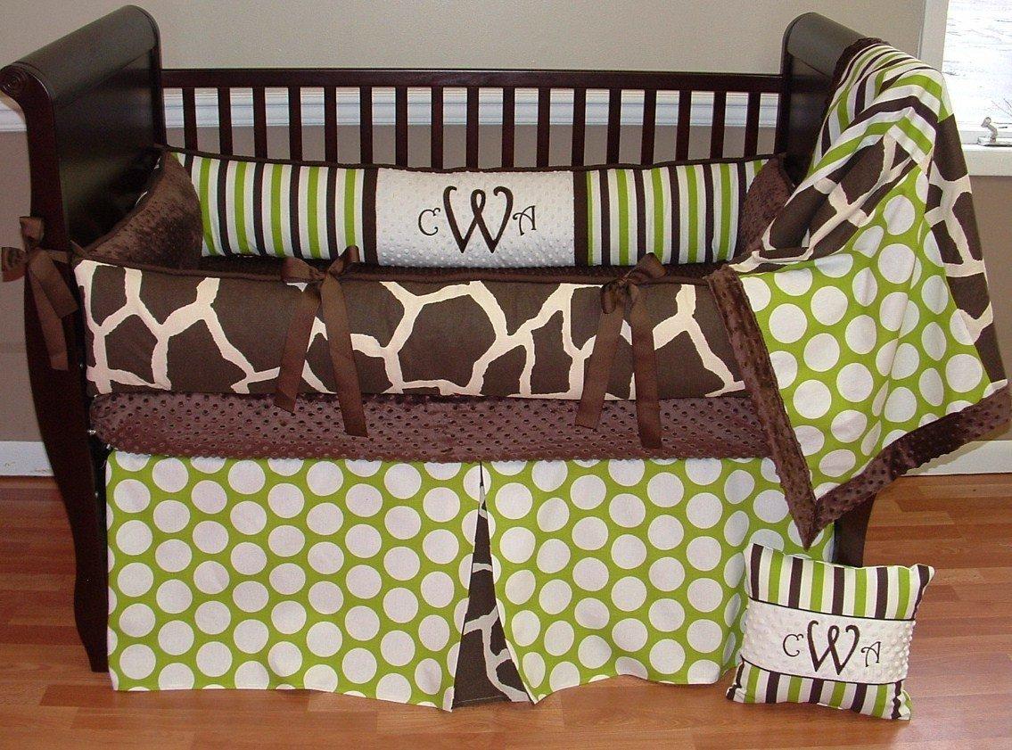 Modpeapod Sweet Pea Giraffe Breathable Baby Bedding Set