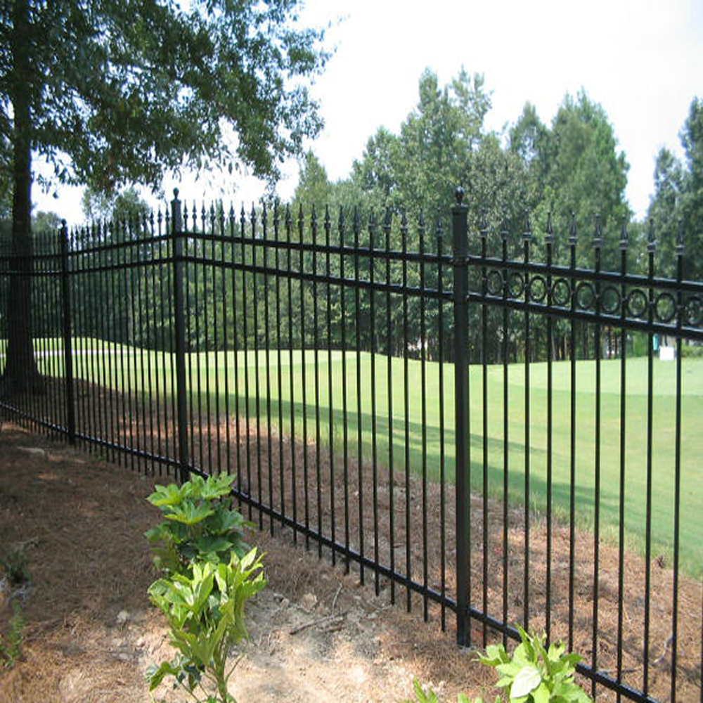 Wonderful Decorative Metal Garden Fence Contemporary - Beautiful ...