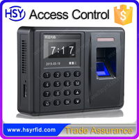Cheap price professional fingerprint access controller password reader and time recording