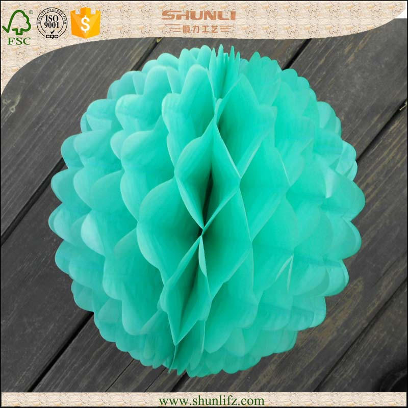 2015 stage decoration for graduation wave paper honeycomb ball