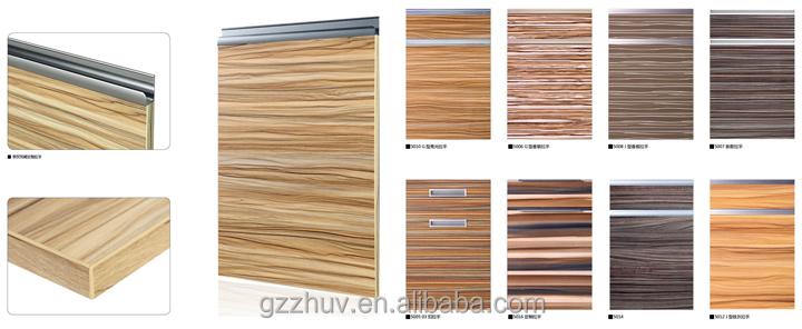 Wholesale Uv High Gloss Laminate /mdf Kitchen Cabinet Door - Buy ...