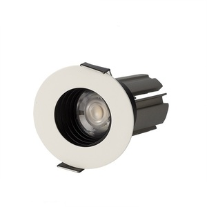 Modern Office Hotel 8W Diameter 68MM Low UGR Recessed Mounted LED Spotlight