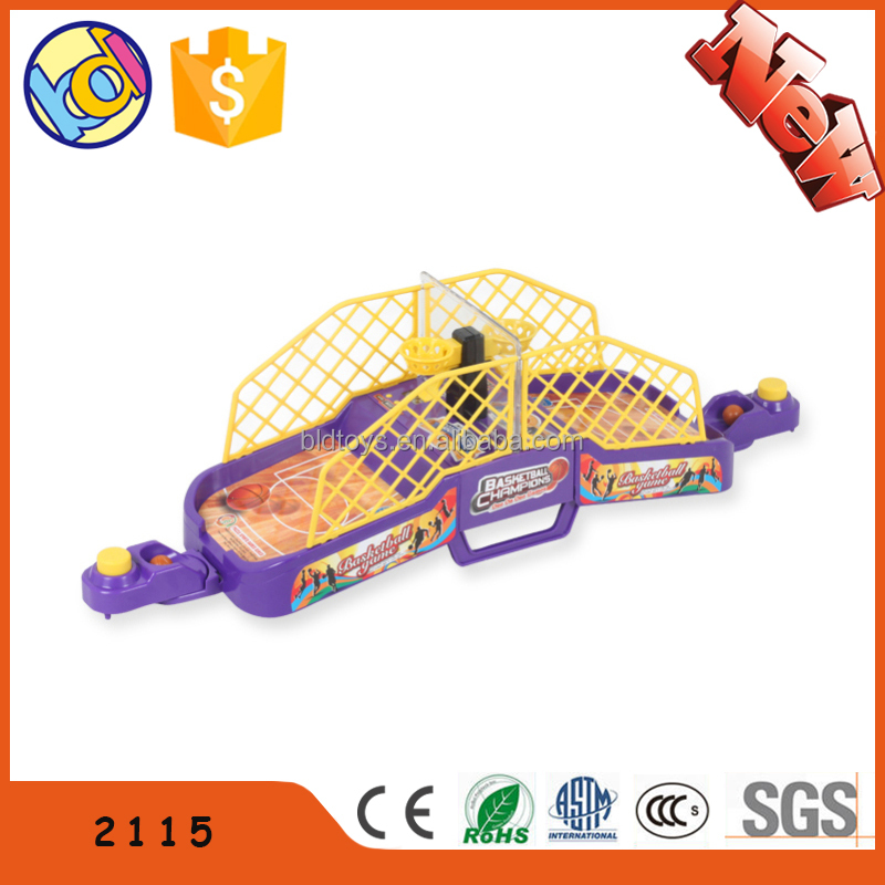 2016 hot item mini table basketball game in china