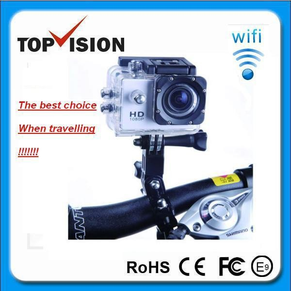 Zoom Technology and Digital Camera Type new sport wifi full hd 1080p action camera