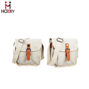 Hot-Selling Cotton Checkpoint Friendly Explorer Messenger Bag/Backpack