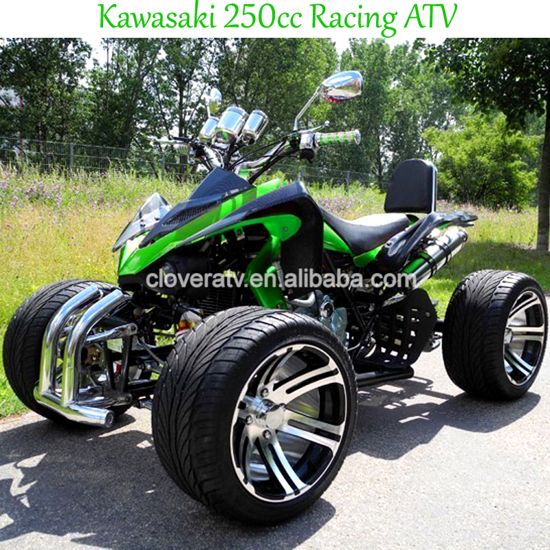 kawasaki 250cc racing atv quad atv f r erwachsene. Black Bedroom Furniture Sets. Home Design Ideas