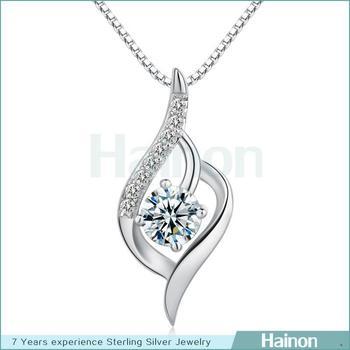 Saudi arabia necklacenew design silver pendantheart shape charm saudi arabia necklacenew design silver pendantheart shape charm pendant cubic zirconia jewelry aloadofball Image collections