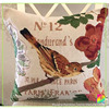 Bird flower High quality Cotton yarn dye jacquard latest design cushion cover wholesale