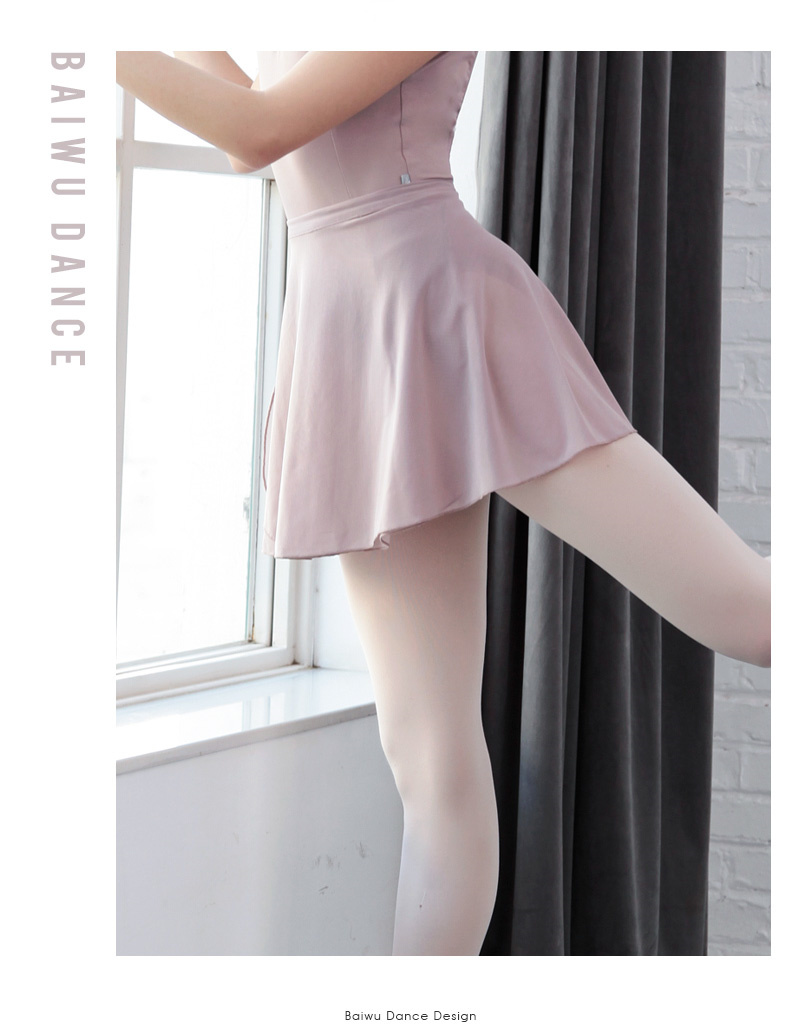 118143004 New Arrival  Eco-friendly Mesh Ballet Skirt  Plus Size Wrap Dress Girl