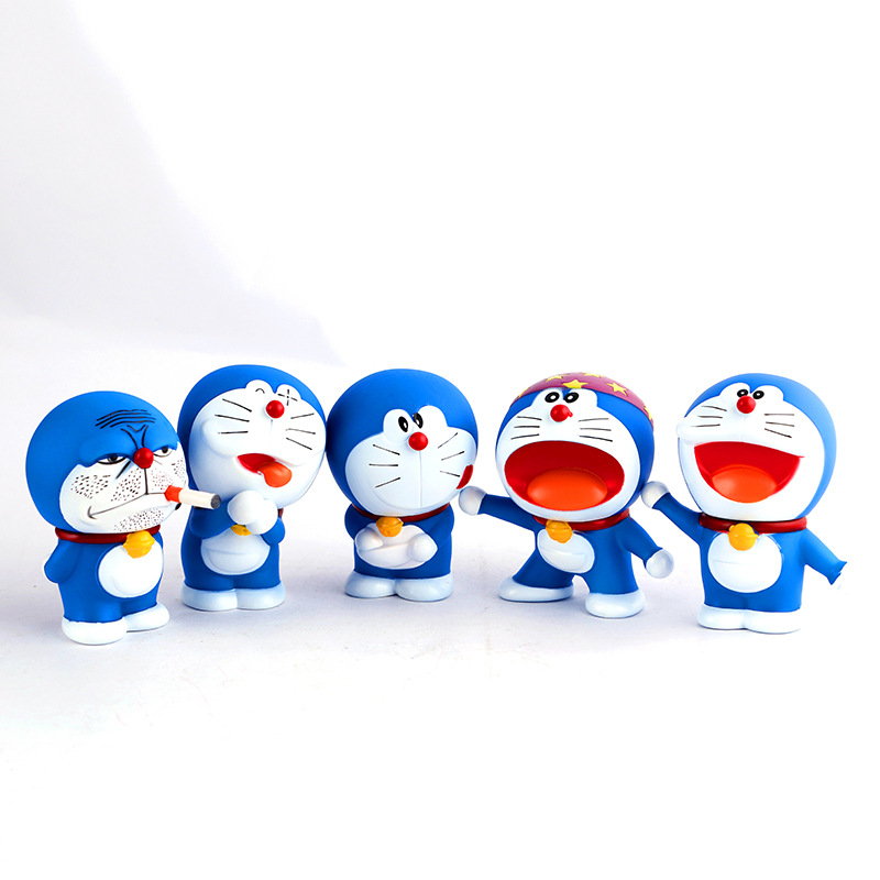 mini plastic toy lobster/Doraemon mini figures/mini toy tape measuring